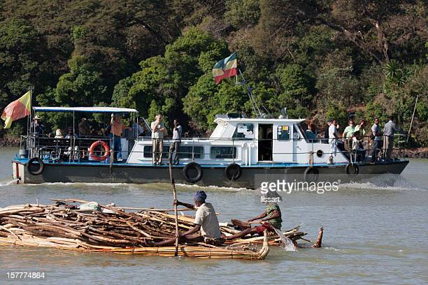 Ethiopian Tour Boat on Lake Tana