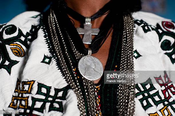 Ethiopian traditional dress and jewellery