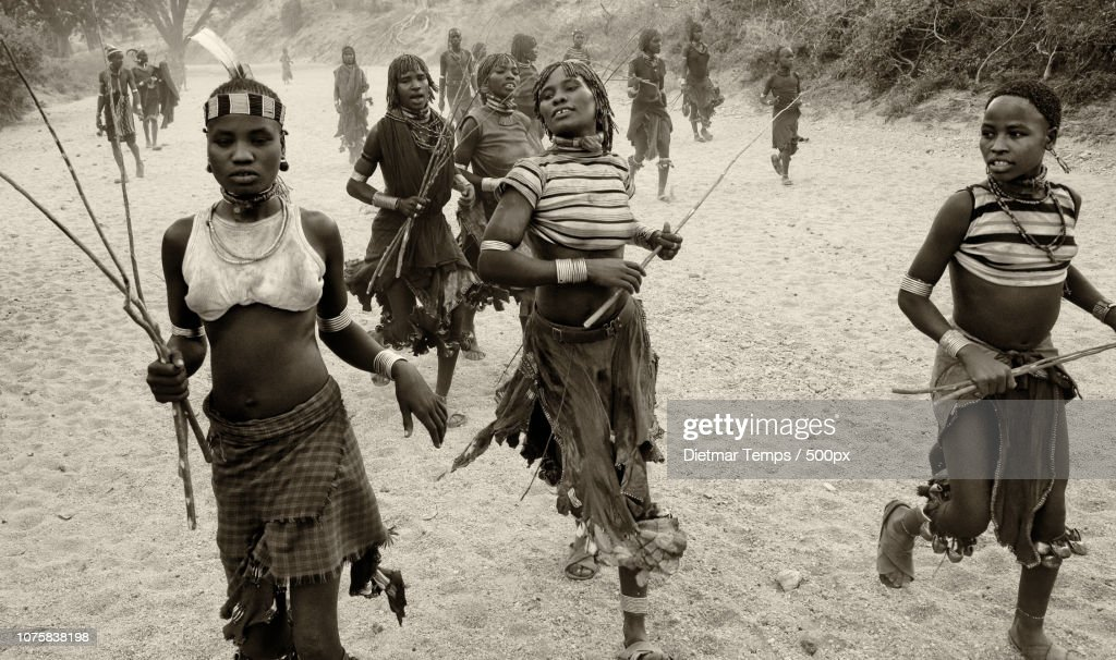 Ethiopian tribes, Omo Valley : Stock-Foto