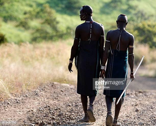 ethiopian tribesmen, ethiopia - hugh sitton ethiopia stock pictures, royalty-free photos & images