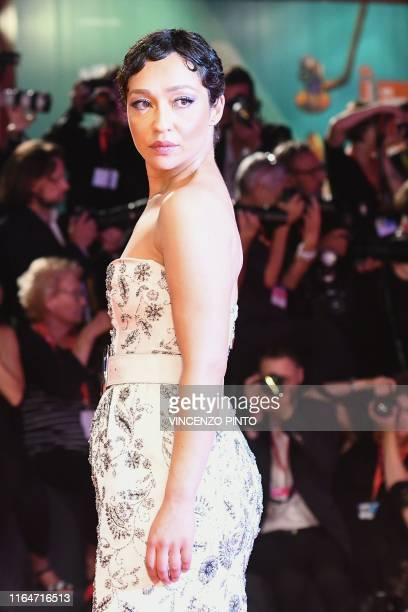EthiopianIrish actress Ruth Negga arrives on August 29 2019 for the screening of the film Ad Astra during the 76th Venice Film Festival at Venice Lido