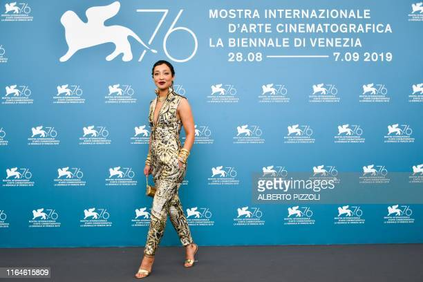 EthiopianIrish actress Ruth Negga attends a photocall on August 29 2019 for the film Ad Astra during the 76th Venice Film Festival at Venice Lido