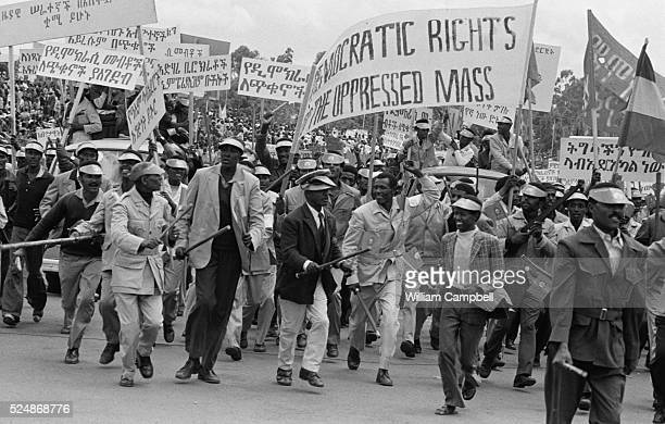 Ethiopians Marching Against Imperialism