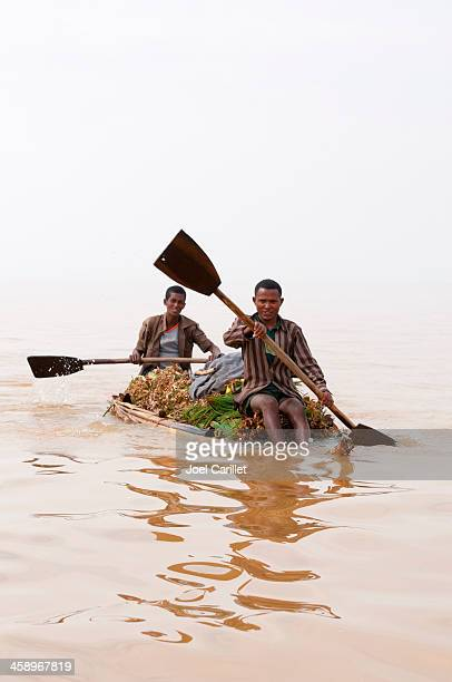 Ethiopians on Lake Tana
