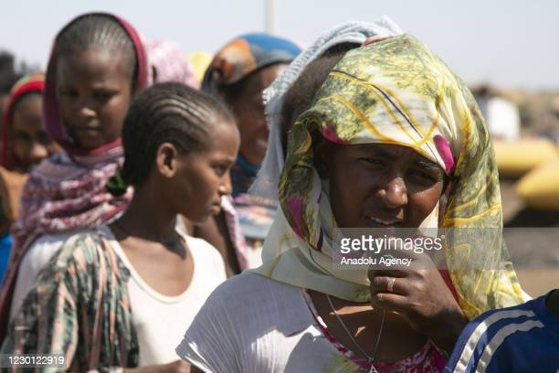 Ethiopians, who fled the conflict in the Tigray region in northern Ethiopia due to the clashes in the operation launched by the Federal Government...