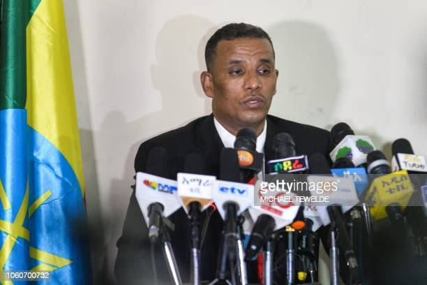 Ethiopias Attorney General Birhanu Tsegaye speaks about the corruption and human rights violation reports in the country following the detention of...