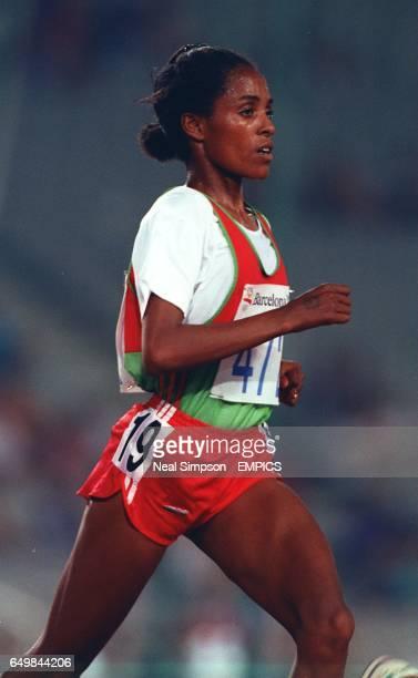 Ethiopia's Derartu Tulu gold medallist