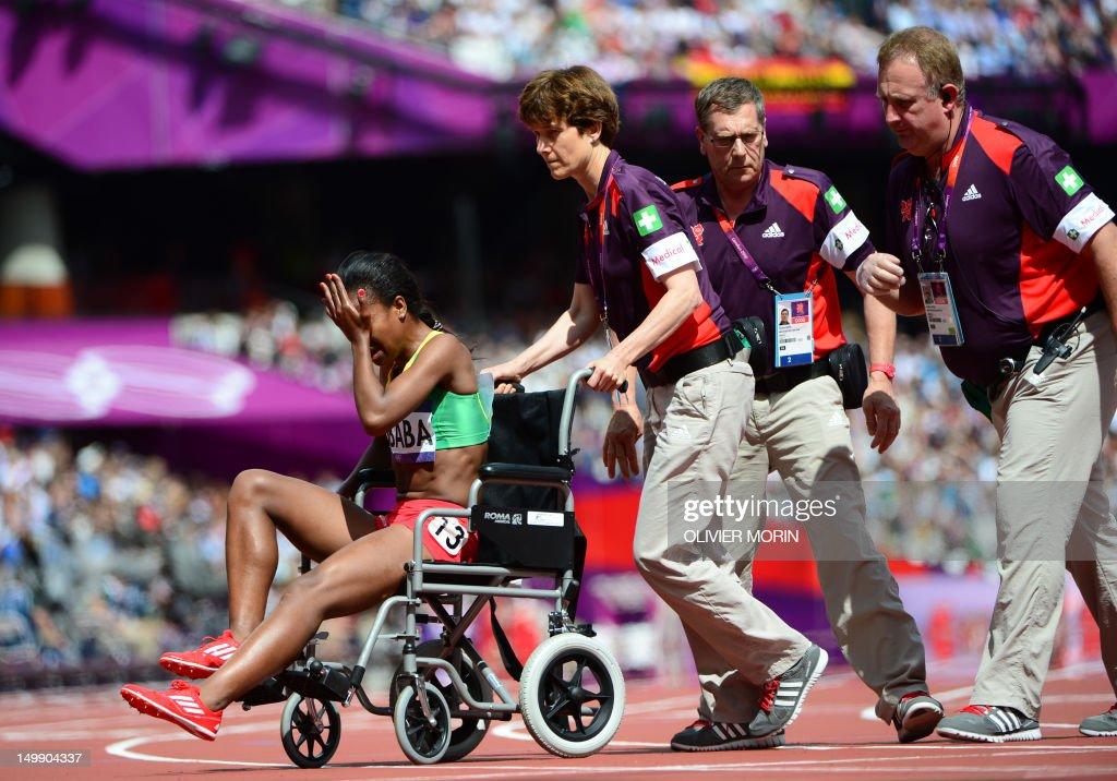 Genzebe Dibaba injured in Barcelona