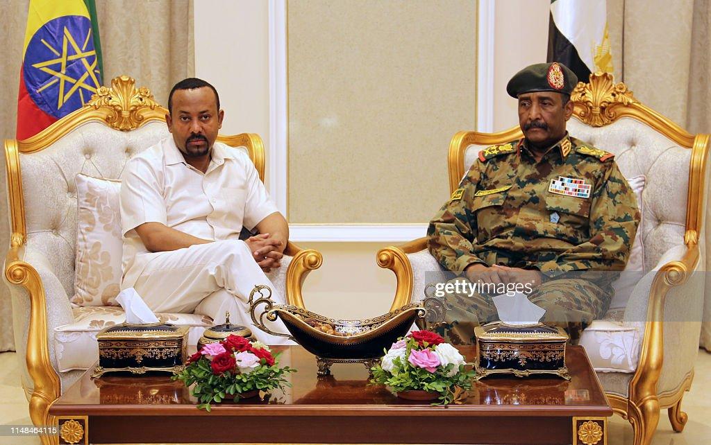 SUDAN-EHIOPIA-CONFLICT-DIPLOMACY : News Photo