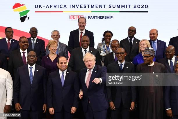 Ethiopia's Prime Minister Abiy Ahmend Angola's President Joao Lourenco Algeria's President Abdelmadjid Tebboune World Bank President David Malpass UN...