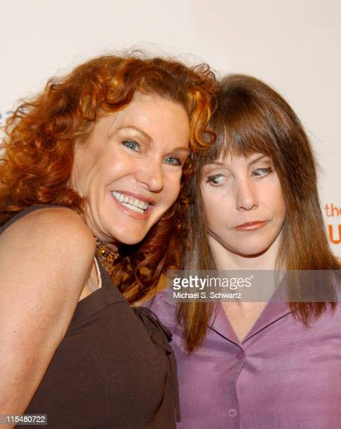 Ethlie Ann Vare and Laraine Newman during Comedian Craig Shoemaker Hosts the Healing Through Laughter Benefit at The Laughter Store in Sherman Oaks...