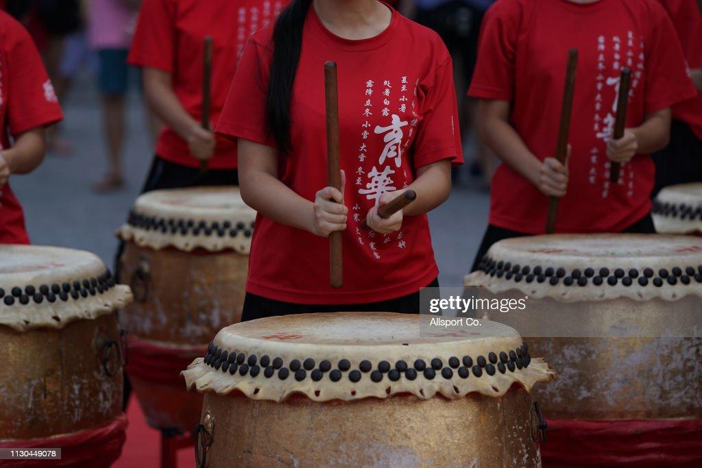 Chinese Lunar New Year Celebration and Chap Goh Mei Celebration : News Photo