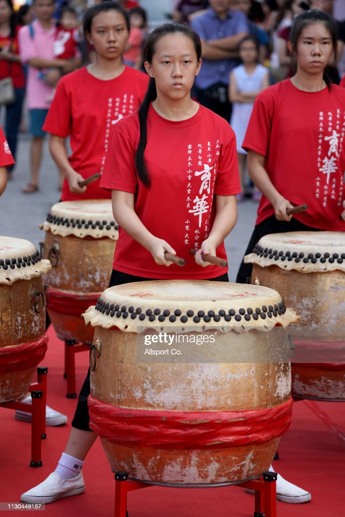 Chinese Lunar New Year Celebration and Chap Goh Mei Celebration : News Photo
