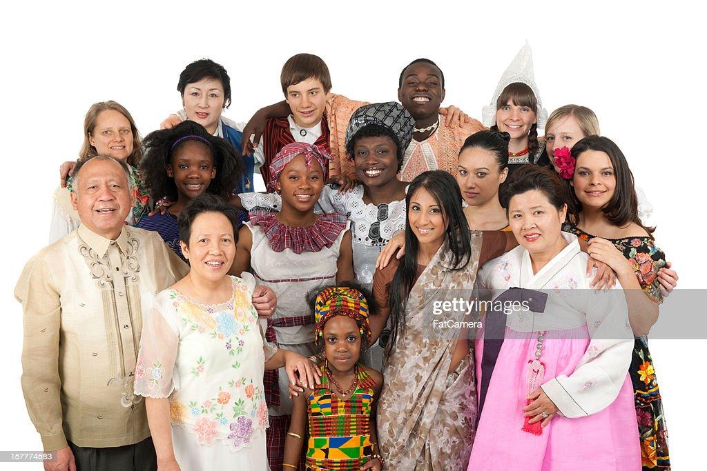 Ethnic Clothing : Stock Photo