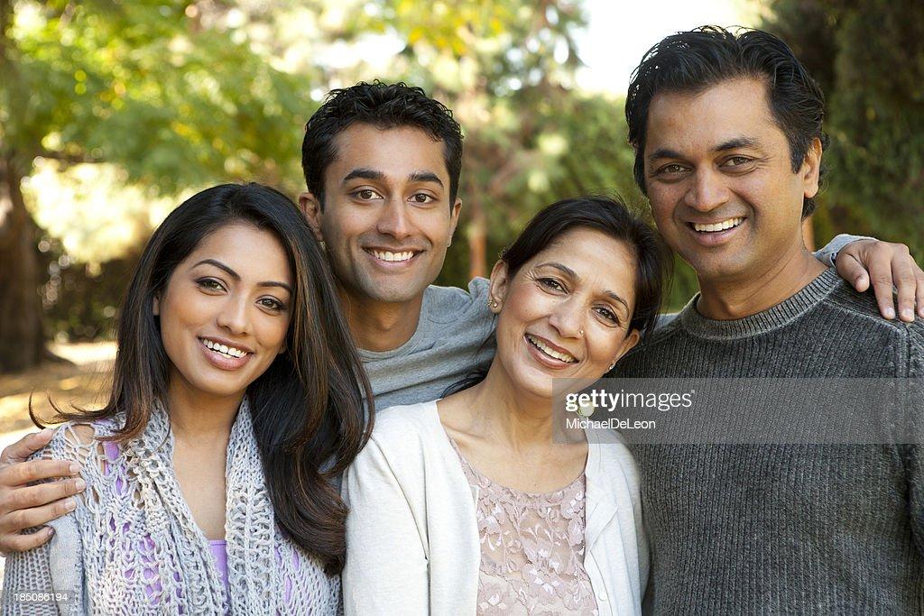 Ethnic Family : Stock Photo