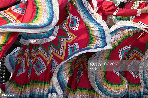 ethnic mexican dresses - traditional clothing stock pictures, royalty-free photos & images
