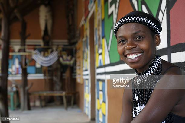ethnic south african woman - south african culture stock photos and pictures