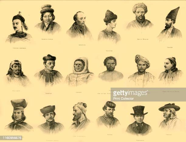 Ethnology' circa 1910 Ethnology a branch of anthropology compares the characteristics of different peoples and relationships between them Artist...