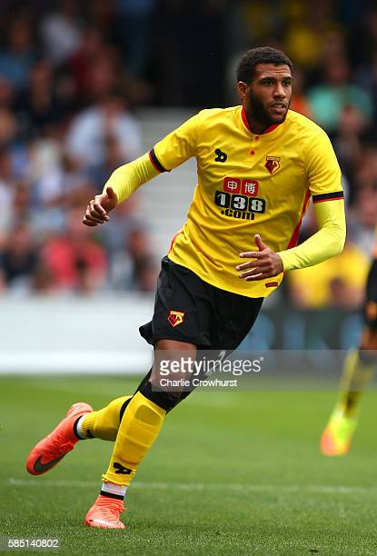 Etienne Capoue of Watford during the pre season friendly match between Queens Park Rangers and Watford at Loftus Road on July 30 2016 in London...