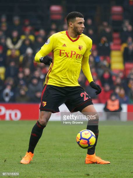 Etienne Capoue of Watford during the Premier League match between Watford and West Bromwich Albion at Vicarage Road on March 3 2018 in Watford...