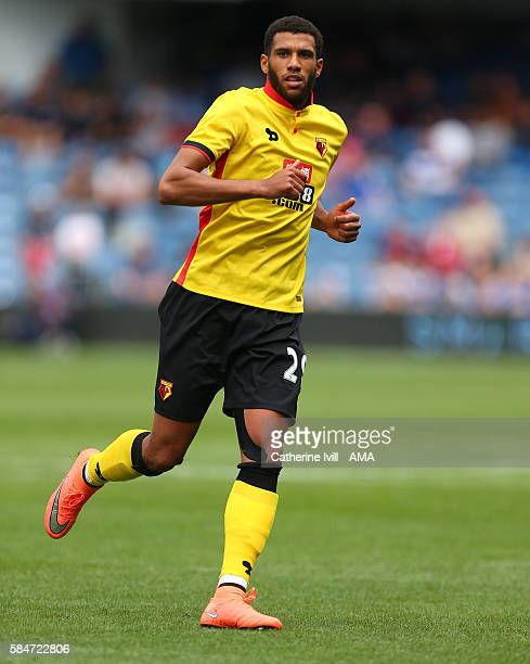 Etienne Capoue of Watford during the PreSeason Friendly match between Queens Park Rangers and Watford at Loftus Road on July 30 2016 in London England