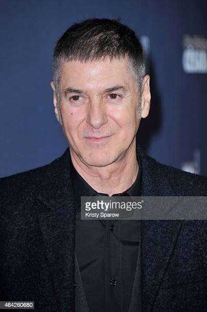 Etienne Daho attends the 40th Cesar Film Awards at Theatre du Chatelet on February 20 2015 in Paris France