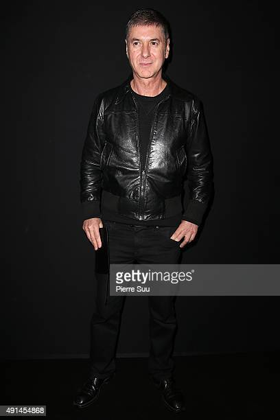 Etienne Daho attends the Saint Laurent show as part of the Paris Fashion Week Womenswear Spring/Summer 2016 on October 5 2015 in Paris France