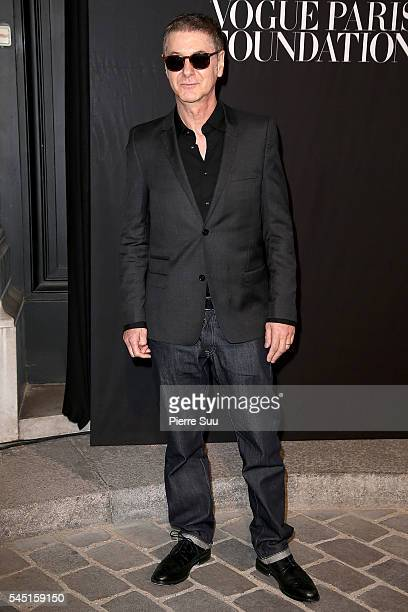 Etienne Daho attends the Vogue Foundation Gala 2016 at Palais Galliera on July 5 2016 in Paris France