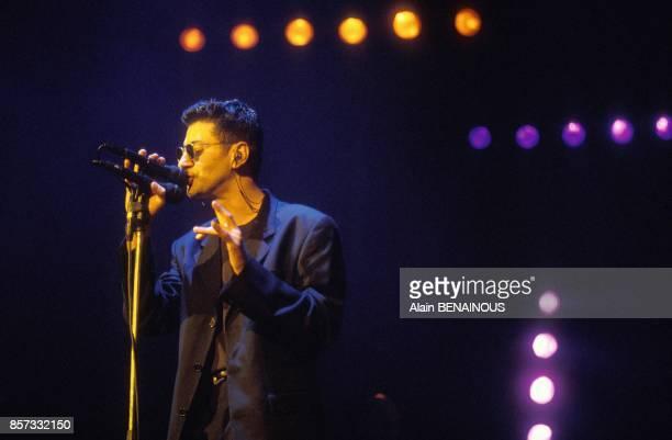 Etienne Daho en concert a Paris le 13 octobre 1992 a Paris France