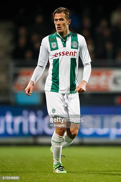 Etienne Reijnen of FC Groningen during the Dutch Eredivisie match between Excelsior and FC Groningen at the Woudestein stadium on march 12 2016 in...