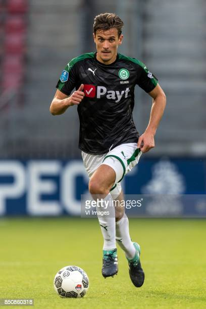 Etienne Reijnen of FC Groningen during the First round Dutch Cup match between USV Hercules and FC Groningen at the Galgenwaard Stadium on September...
