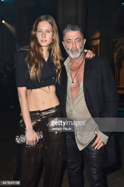 Etienne Russo attends 'A Better High' Party as part of the Paris Fashion Week Womenswear Fall/Winter 2017/2018 at American Cathedral Of Paris on...