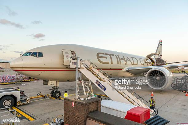 Etihad Boeing 777 cargo aircraft