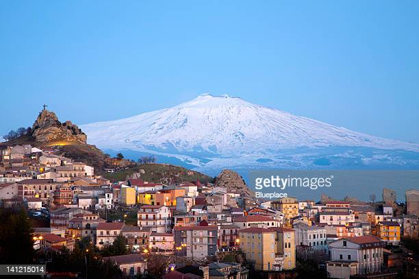 etna volcano - mt etna stock pictures, royalty-free photos & images