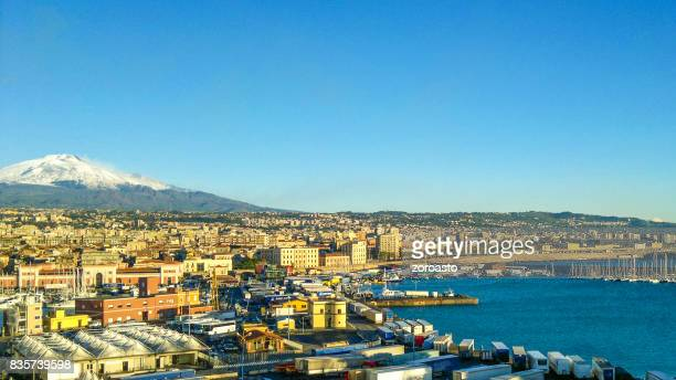 etna volcano - catania stock pictures, royalty-free photos & images