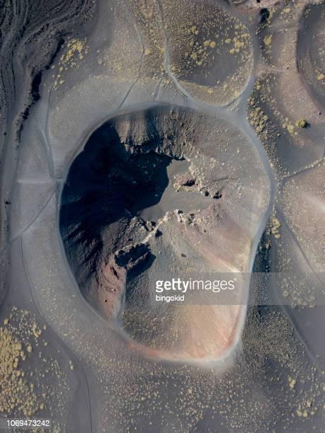 vulcão etna sicília - mt. etna - fotografias e filmes do acervo