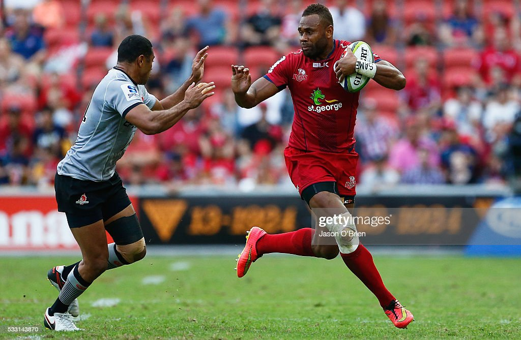 Super Rugby Rd 13 - Reds v Sunwolves : News Photo