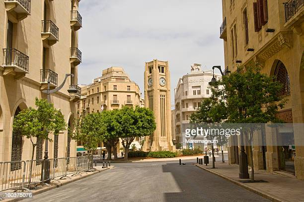 etoile square in downtown - beirut stock pictures, royalty-free photos & images