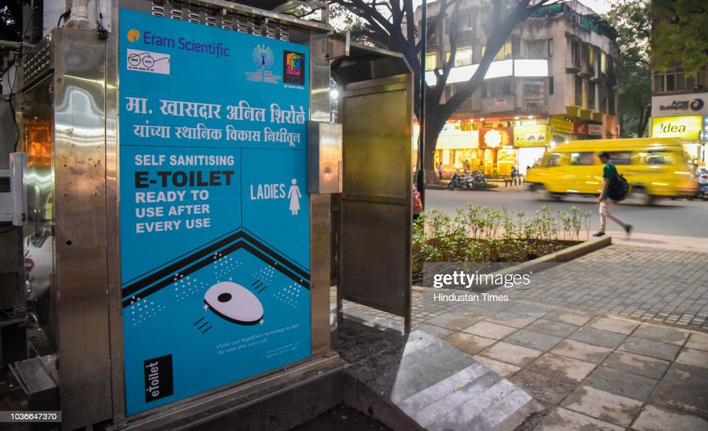 Prefabricated Public E-Toilets In Pune