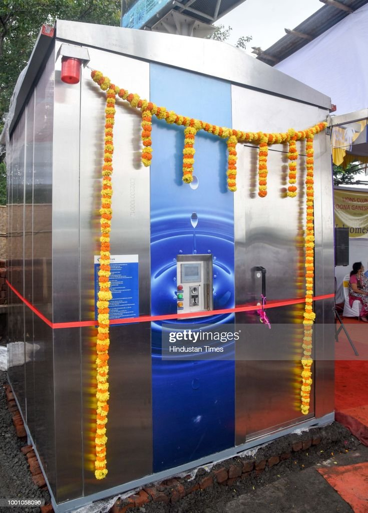 Pune Mayor Mukta Tilak Inaugurates E-Toilets For Women At Khanduji Baba Chowk