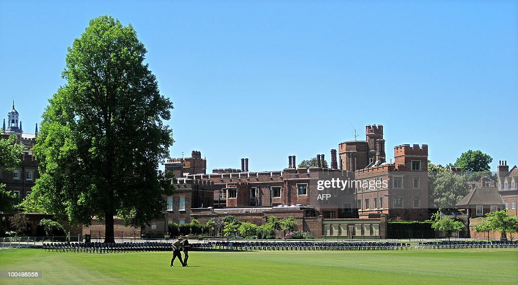 Eton school is pictured in Eton, west of London, on May 24, 2010. Britain's new Prime Minister David Cameron has revived a time-honoured tradition by becoming the 19th former pupil to go on to lead his country after attending Eton College. Eton, one of the most famous schools in the world, is the link between Conservatives like Cameron -- the first Old Etonian premier for 44 years -- and the Liberal William Gladstone, prime minister four times in the late 1800s.
