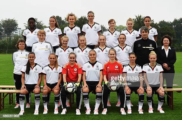 Etonam Nicole Anyomi Lisa Ebert Lena Lattwein Lara Schmidt Anna Hausdorff and Maral Artin Ulrike Ballweg head coach Carmen Holinka assistant coach...