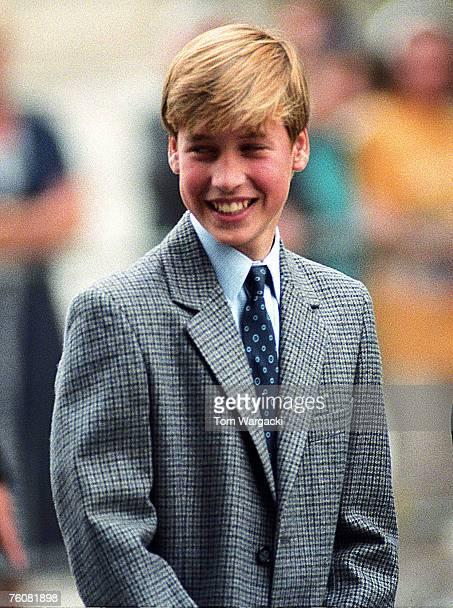 EtonEngland September 6 1995 Prince William his first day at Eton