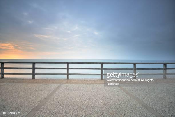 Etretat beach in Normandy