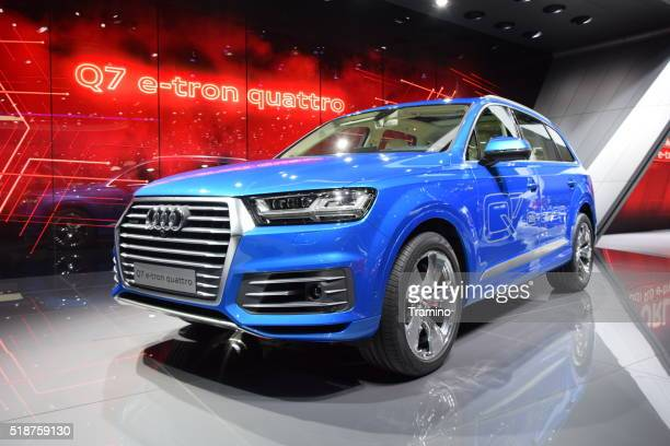 Q7 e-Tron Quattro - the largest SUV from Audi