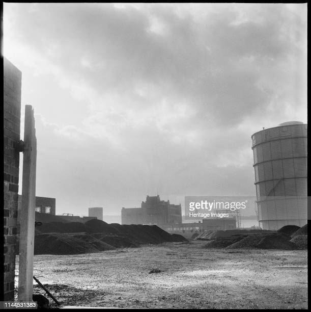 Etruria Gas Works Etruscan Street Etruria Hanley StokeonTrent 19651968 A view looking south across the site with Holy Trinity Church Hartshill...