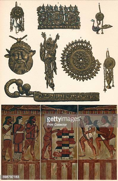 Etruscan Antiquities from Clusium Vulsinii Vulci and Caere 500 BC The painted terracotta slabs from the Campana Collection came from a tomb in Caere...