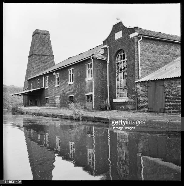 Etruscan Bone and Flint Mill, Lower Bedford Street, Etruria, Hanley, Stoke-on-Trent, 1965-1968. The Etruscan Bone Mill , viewed from the Lower...