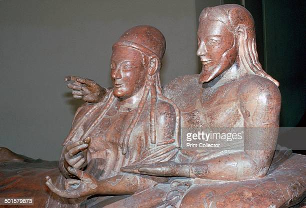 Etruscan sarcophagus of a couple from Caere 6th century BC