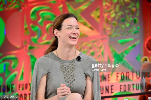 Etsy COO Linda Kozlowski attends Fortune Most Powerful Women Summit 2018 at Ritz Carlton Hotel on October 3 2018 in Laguna Niguel California